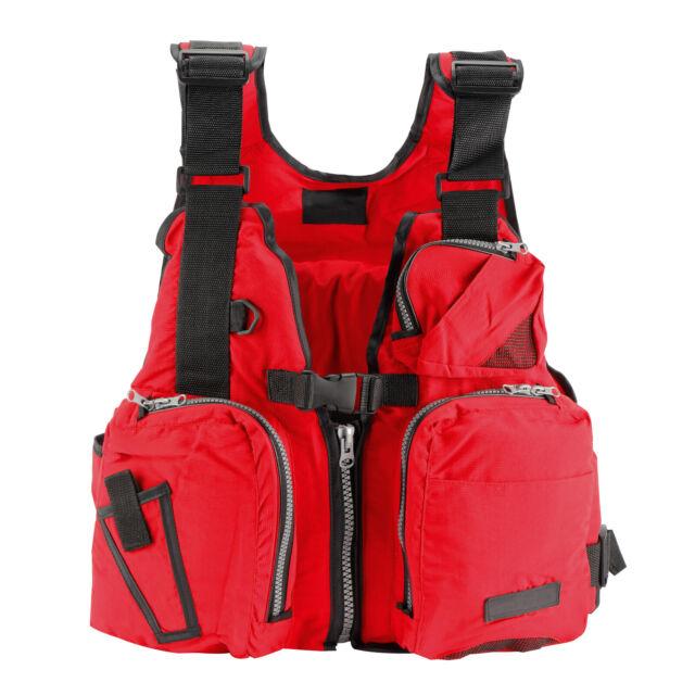 Adult Men Women Life Jacket Kayak Buoyancy Aid Vest Sailing Boating Watersport