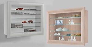 Image Is Loading Bora 10 Wall Mounted Display Cabinet Shelving Ideal