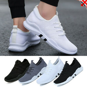 UK-MENS-TEENS-TRAINERS-LACE-UP-SPORT-PUMPS-RUNNING-GYM-SNEAKERS-MESH-SHOES-SIZE