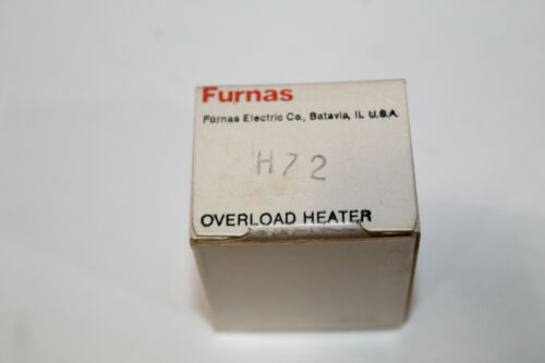 SIEMENS//FURNAS H-72 REPLACEMENT OVERLOAD HEATER