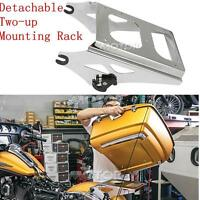 Detachable Two Up Tour Pack Mounting Luggage Rack F Harley Road King Flhr 09-13