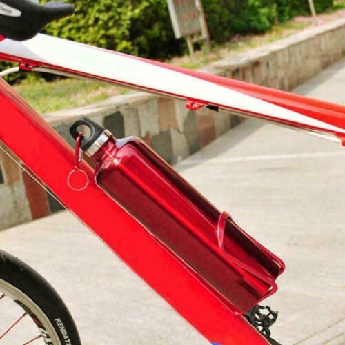 Aluminum Alloy Bicycle Drink Water Bottles Rack Holder Cages Bracket N2C7