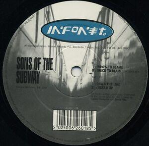 SONS-OF-THE-SUBWAY-BANDULU-ESCAPE-VENTURES-12-034-vinyl-RARE-ORIGINAL-INFONET-1994