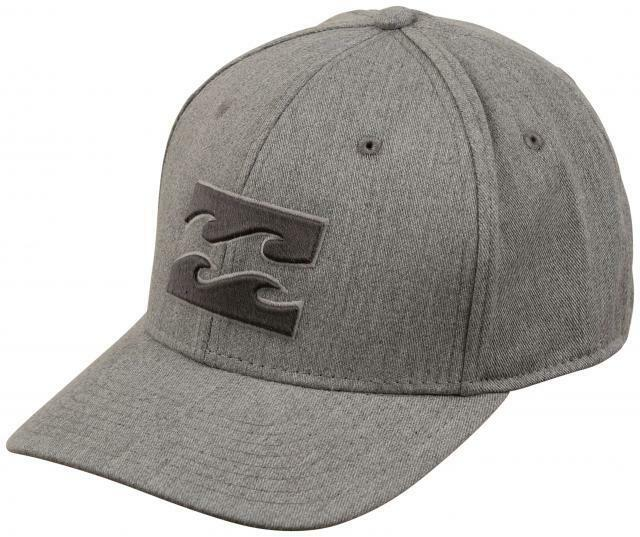 classic fit quite nice best loved Billabong All Day Stretch Mens Hat (new) Heather Grey Gray L/xl ...