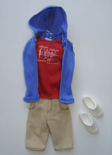 Barbie/KEN Clothes/Fashions Hoodie With Shorts And Shoes NEW!