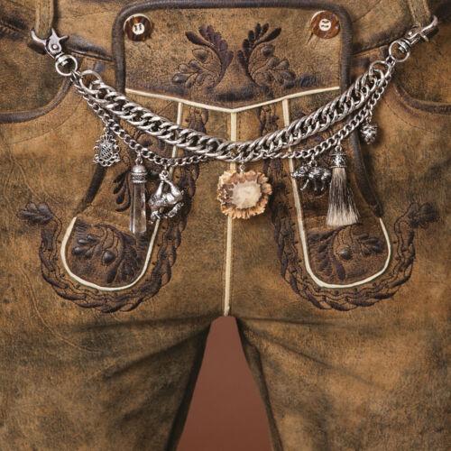 Trachtenschmuck Kette Charivari Schmuck für Lederhose Herren Männer Oktoberfest