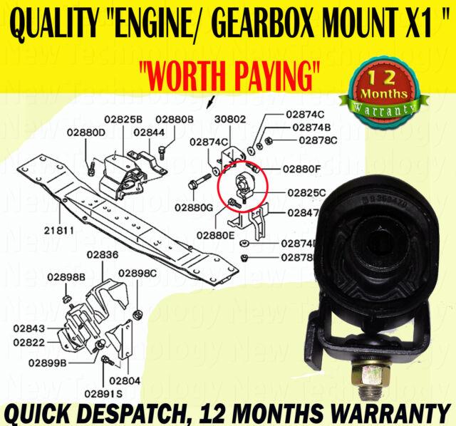 MITSUBISHI L200 2.5 2.8 3.0 96-07 ENGINE GEARBOX TRANSFER BOX MOUNTING MOUNT