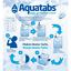 100-Water-Purification-Tablets-Aquatabs-Easy-Purify-amp-Cleaning-Water-for-Drinking Indexbild 5