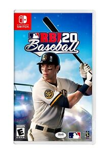 RBI Baseball 20 (Nintendo Switch) BRAND NEW FACTORY SEALED Free Shipping