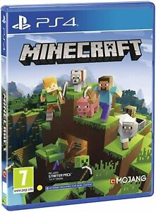 Minecraft Bedrock Edition PS4 (Sony PlayStation 4, 2019) Brand New - Region Free
