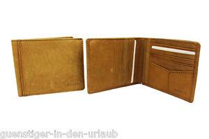 702c4fa96597a Das Bild wird geladen FOSSIL-Herren-Leder-Geldboerse-Portemonnaie-Geldbeutel -braun-NEU