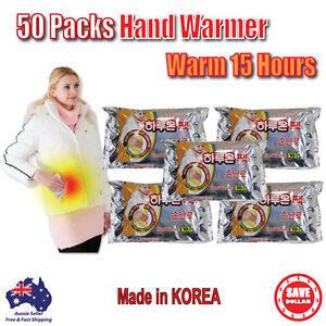 50pc-Haruon-Pack-Hand-Warmer-Instant-Heat-Hot-Pad-Heating-warm-15-hours-KOREA