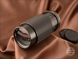 Minolta MD Mount Tokina RMC 80-200mm Constant Fast f4 Zoom Lens - VGC - 1355