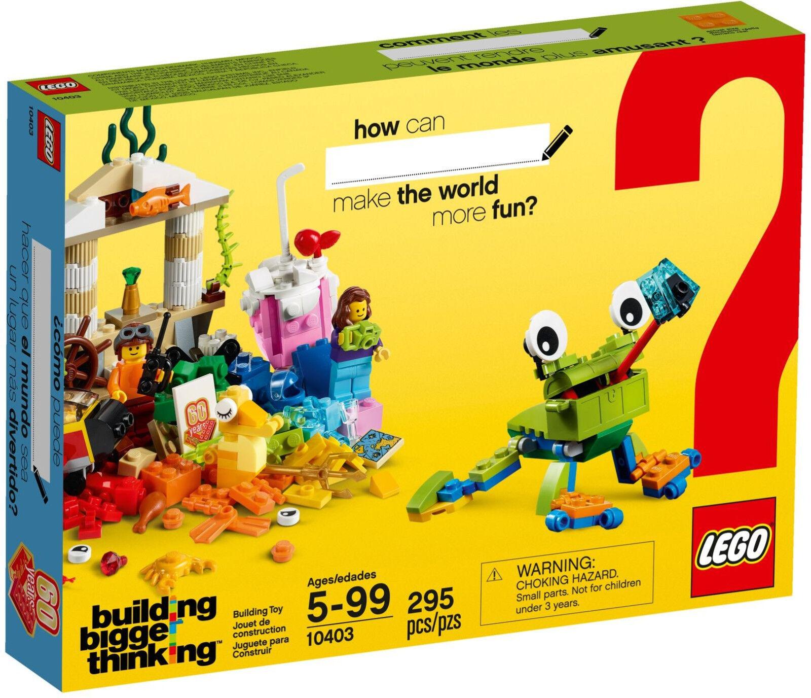 LEGO Classic  - 10403 Spaß in der Welt   Classic World Fun - Neu & OVP a20196