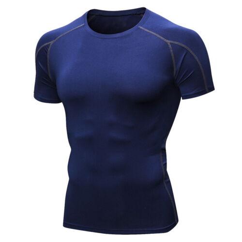 T-Shirt Homme Tops Chemise Oberteille Fitness Entraînement Séchage Rapide DIY