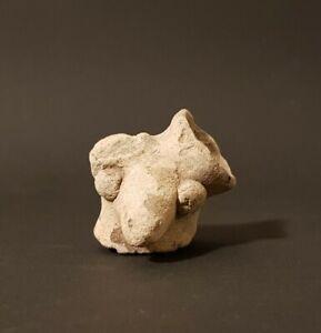Mystérieuse tête. Tumaco, Équateur, 500 avant à 500 après JC. Précolombian art