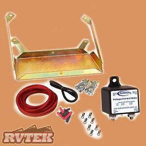 DUAL-BATTERY-SYSTEM-KIT-TRAY-WIRING-FITS-TOYOTA-HILUX-V6-TURBO-DIESEL-03-05