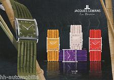 Uhrenkatalog Jacques Lemans Passion 2003 D catalog watches Armbanduhren Prospekt