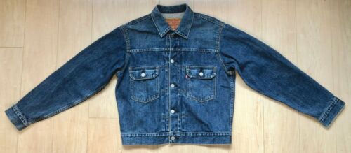 VTG LEVIS 507 second jacket selvedge 40 big E 507X