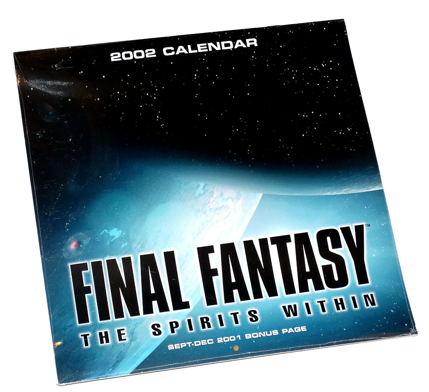 Final fantasy, die geister in 2002 kalender fabrik versiegelt entertainment cal