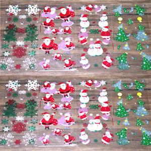 Christmas Cellophane Bags.Details About 50pcs Christmas Cellophane Cello Loot Bags Sweet Bag Santa Snowflake Snowman