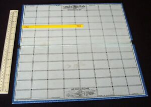 Vintage 1930s/40s era Spare Board for Gibson Wargame Aviation.  (788)