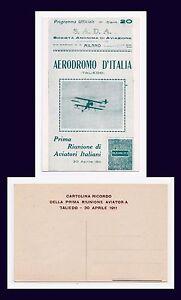 ITALY MILANO AERODROMO D'ITALIA (TALIEDO) REUNION OF ITALIAN AVIATORS 1911