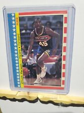 No Chuck Person Lot of Four 1987 Fleer Sticker Basketball Cards 10 of 11