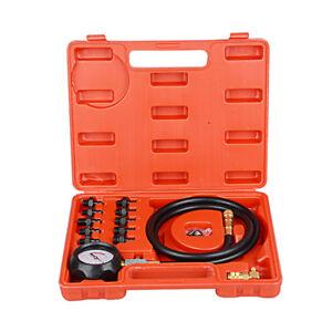 Engine-Oil-Pressure-Test-Kit-Tester-Low-Oil-Warning-Devices-Gauge-0-140-PSI
