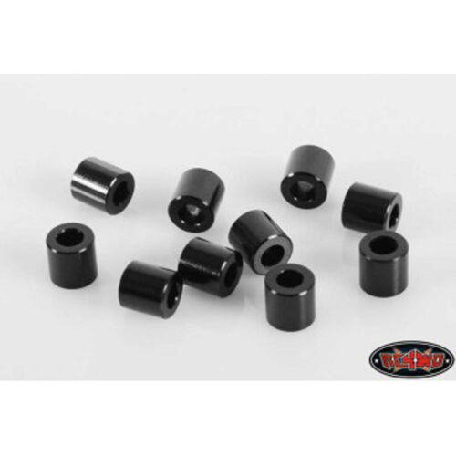 10 RC4WD 6mm Black Spacer with M3 Hole