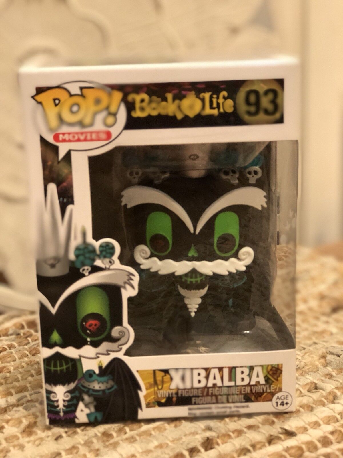 FUNKO POP MOVIES: BOOK OF LIFE - XIBALBA NEW IN BOX  VAULTED