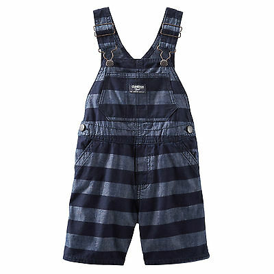 Oshkosh Latzhose  NEU 62-92  blau-weiß gestreift Latzshorts Shorts Hose Gr
