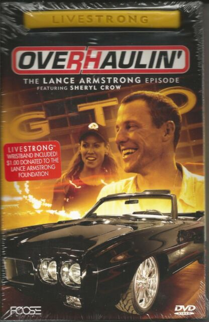 Overhaulin The Lance Armstrong Episode New DVD 2005 Livestrong Wristband Incl