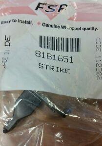 Genuine OEM FSP Whirlpool, Kenmore, Maytag Washer Door Strike 8181651 WP8181651