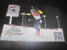 32948 Tobias Arwidson Schweden Biathlon original signierte Autogrammkarte
