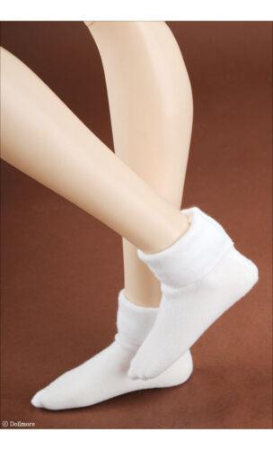White SD 1//3 BJD Ankle socks SD Size Angkm Socks Dollmore