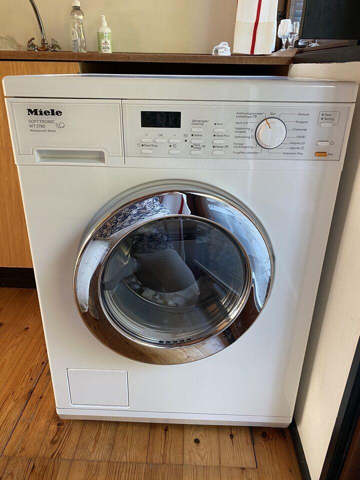 Miele vaskemaskine, Softtronic WT 2780,