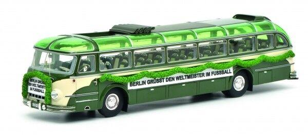 1 43 Schuco Magirus Deutz o 6500 WM 1954 beige verde 45 090 4100