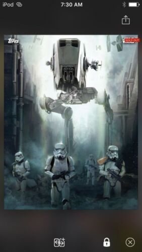 Topps Star Wars Digital Card Trader Rogue One Premiere AT-ST Insert