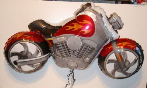 """Lote De Trabajo 5 X 45/"""" globo de la hoja Motor Bicicleta Ciclo Harley Chopper Nuevos En Bolsa de violonchelo"""