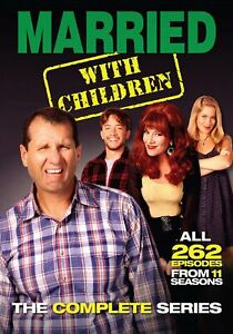 Married…With Children - Complete Series DVD  NEW