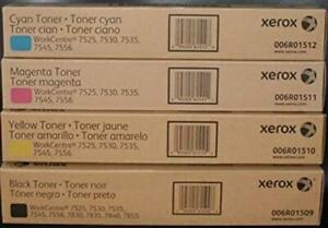 Genuine Xerox 006R01509, 006R01510, 006R01511, 006R01512 Toner Cartridges (1 set of 4) - Free shipping Canada Preview