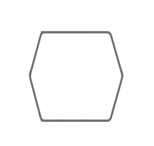 Convient pour Brill tondeuse Courroie trapézoïdale cg35065700 2222 mm 6-Kant