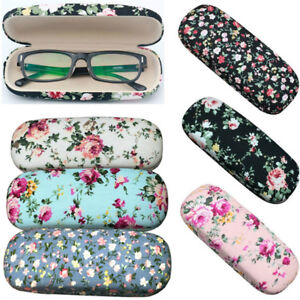 7dbbf9dc5d8 Image is loading Floral-Reading-Spectacle-Glasses-Case-Sunglasses-Storage -Design-