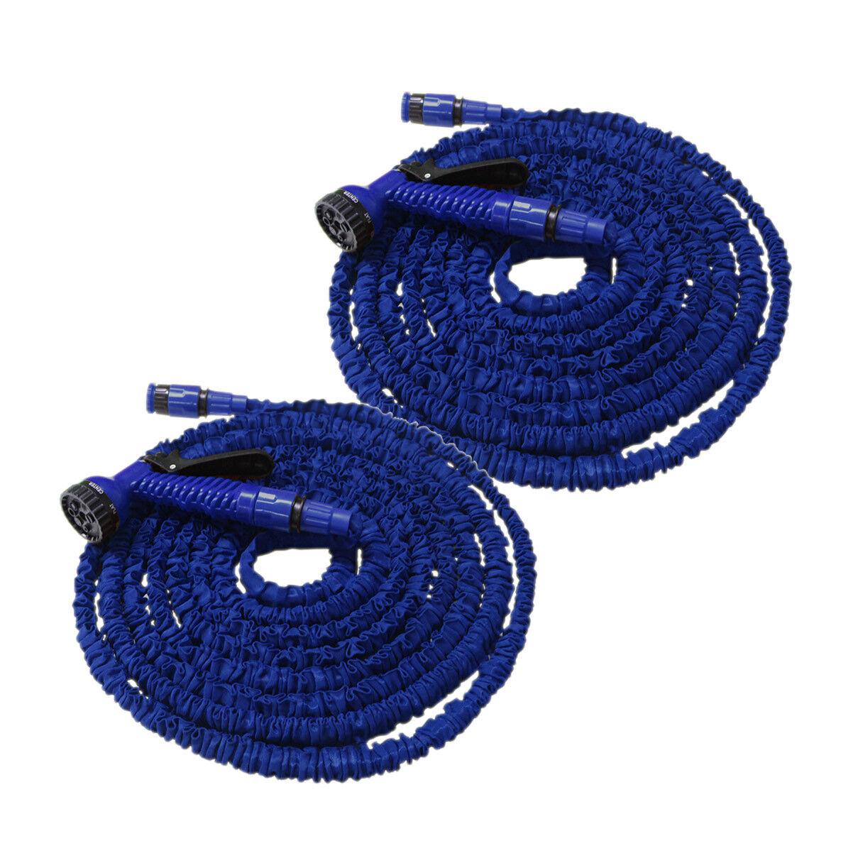 Flexibler Gartenschlauch Flexischlauch Schlauch 2 x blau 30m EUR 0,54 m   Deutschland Shop    Zuverlässige Qualität    Won hoch geschätzt und weithin vertraut im in- und Ausland vertraut