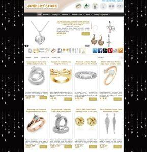 JEWELRY Store Automatic Amazon eBay CB Affiliate Website Make Money + AUTOUPDATE