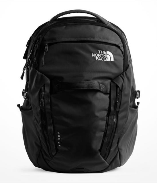 2c89d630b The North Face Surge Men Laptop Backpack - TSA Friendly - 31L - NWT - Black