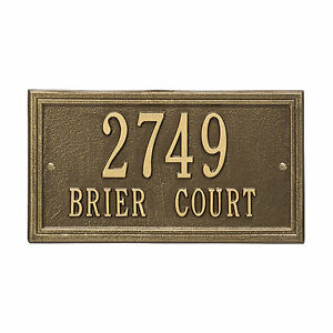 Double-Line-Personalized-Address-Plaque