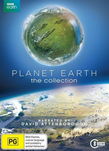 Planet Earth Collection - David Attenborough : NEW 8-Disc DVD