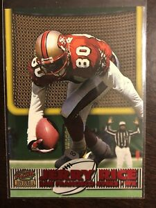 1998-PACIFIC-REVOLUTION-JERRY-RICE-TOUCHDOWN-LASER-DIECUTS-49ERS